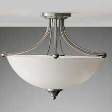 Morgan 3 Light Semi Flush Mount