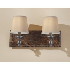 Carrollton 2 Light Bath Vanity Light