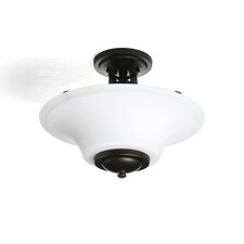 Barrington Semi Flush Mount in Oil Rubbed Bronze