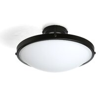 Boulevard 2 Light Semi Flush Mount