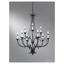 <strong>Feiss</strong> Peyton 9 Light Chandelier