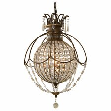 <strong>Feiss</strong> Bellini 3 Light Hall Chandelier