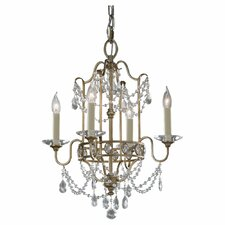 <strong>Feiss</strong> Gianna 4 Light Chandelier