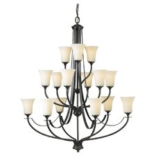 <strong>Feiss</strong> Barrington 15 Light Chandelier