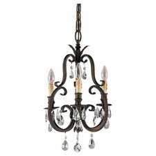 <strong>Feiss</strong> Salon Ma Maison 3 Light Mini Chandelier