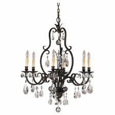 <strong>Feiss</strong> Salon Ma Maison 6 Light Chandelier