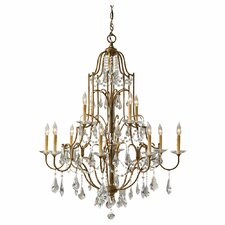<strong>Feiss</strong> Valentina 12 Light Chandelier
