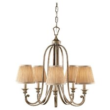 <strong>Feiss</strong> Abbey 5 Light Chandelier