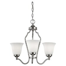 <strong>Feiss</strong> Beckett 3 Light Mini Chandelier