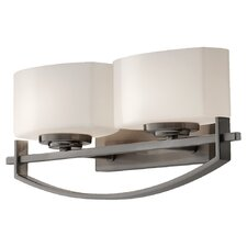 <strong>Feiss</strong> Bleeker Street 2 Light Bath Vanity Light