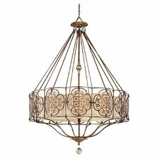 <strong>Feiss</strong> Marcella 4 Light Chandelier