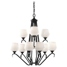 Merritt 9 Light Chandelier