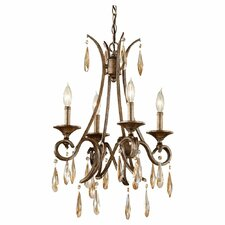 <strong>Feiss</strong> Reina 4 Light Chandelier