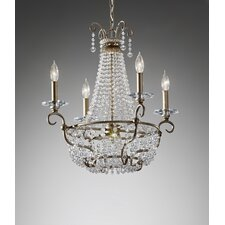 <strong>Feiss</strong> Dutchess 4 Light Chandelier