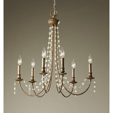 <strong>Feiss</strong> Aura 6 Light Chandelier