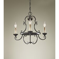 <strong>Feiss</strong> Barnaby 3 Light Chandelier