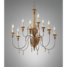 <strong>Feiss</strong> Annabelle 9 Light Chandelier