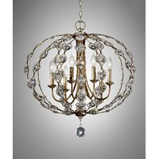 Leila 6 Light Chandelier