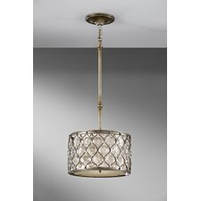<strong>Feiss</strong> Lucia 1 Light Drum Pendant