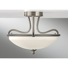 <strong>Feiss</strong> Merritt 2 Light Semi Flush Mount