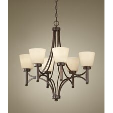 <strong>Feiss</strong> Nolan 6 Light Chandelier