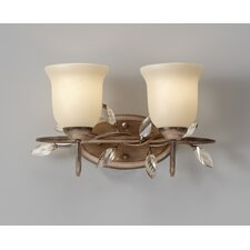Priscilla 2 Light Bath Vanity Light