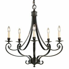 <strong>Feiss</strong> Cervantes 5 Light Chandelier