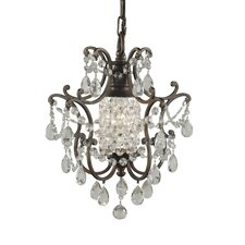 Masion De Ville 1 Light Mini Chandelier