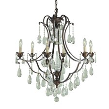 Maison De Ville 6 Light Chandelier