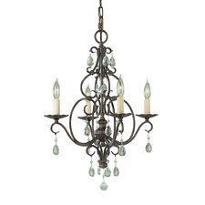 <strong>Feiss</strong> Chateau 4 Light Mini Chandelier