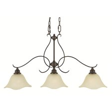 Morningside 3 Light Kitchen Island Pendant