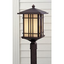 <strong>Feiss</strong> Prairie House 1 Light Outdoor Post Lantern