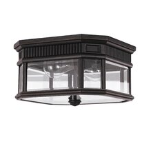 Cotswold Lane 2 Light Outdoor Flush Mount