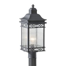 "<strong>Feiss</strong> Liberty 1 Light 7.75"" Outdoor Post Lantern"