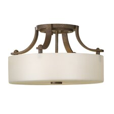 Sunset Drive 2 Light Semi Flush Mount