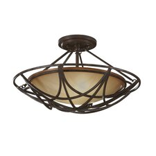 El Nido 2 Light Semi Flush Mount