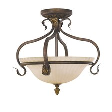 Sonoma Valley Small Semi Flush Mount