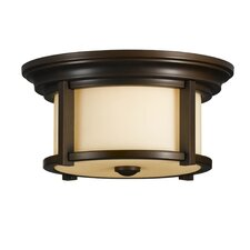 Merrill 2 Light Outdoor Flush Mount