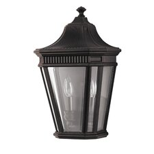 <strong>Feiss</strong> Cotswold Lane 2 Light Outdoor Wall Lantern