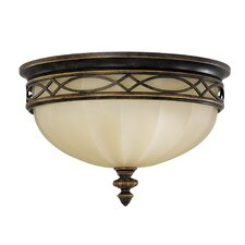 Edwardian 3 Light Flush Mount