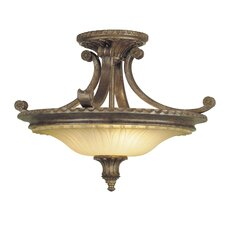 <strong>Feiss</strong> Stirling Castle 2 Light Semi Flush Mount