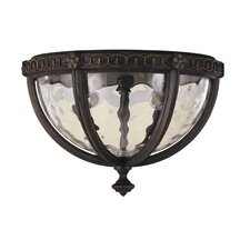 <strong>Feiss</strong> Regent Court 2 Light Outdoor Flush Mount