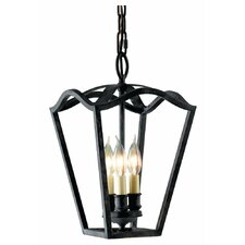 King''s Table 3 Light Foyer Pendant