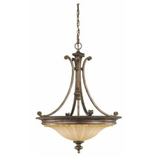 <strong>Feiss</strong> Stirling Castle 3 Light Inverted Pendant