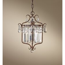 "Gianna Scuro 1 Light 14.6"" Mini Duo Chandelier"