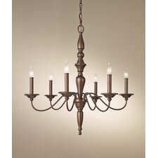 <strong>Feiss</strong> Yorktown Heights 6 Light Chandelier