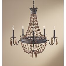 <strong>Feiss</strong> Marcia 5 Light Chandelier