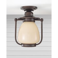 McCoy 1 Light Outdoor Flush Mount