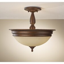 Yorktown Heights 3 Light Semi Flush Mount