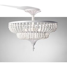 <strong>Feiss</strong> Maarid 3 Light Semi Flush Mount